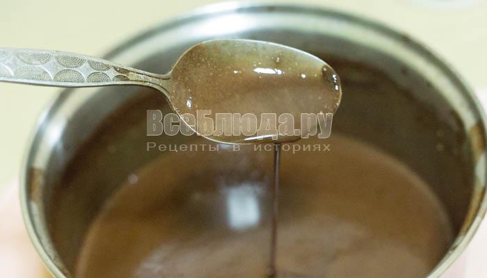 Шоколадный мармелад с агар-агаром