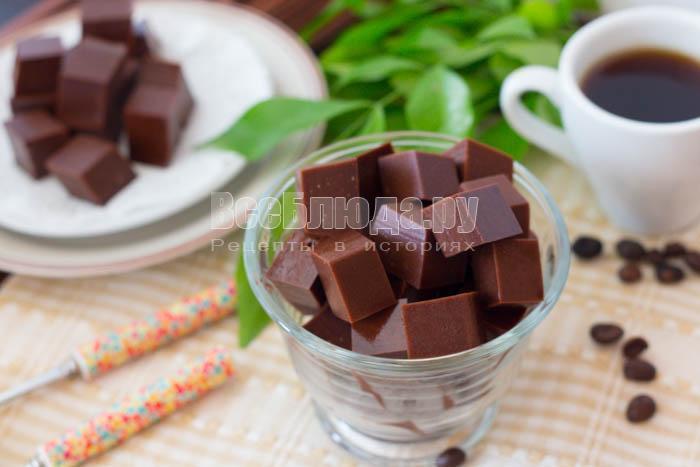 готовый мармелад с какао