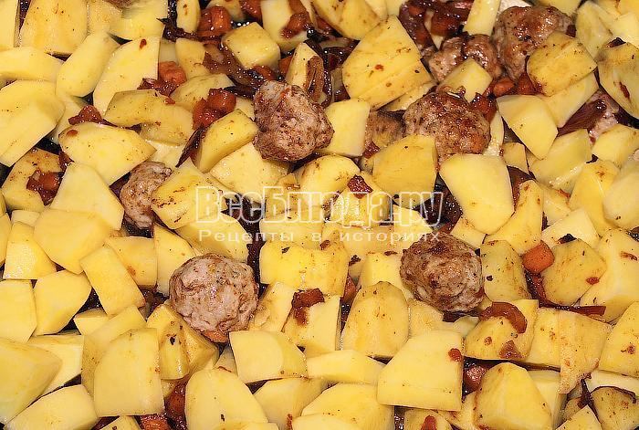 Добавили картофель