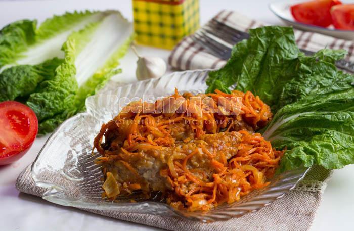 Сазан с морковью в томатном соусе, жареный на сковороде - рецепт с пошаговыми фото, Все Блюда