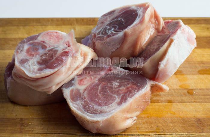 Свиная рулька, запеченная в духовке
