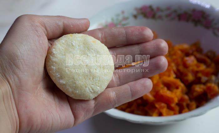 слепить печенье