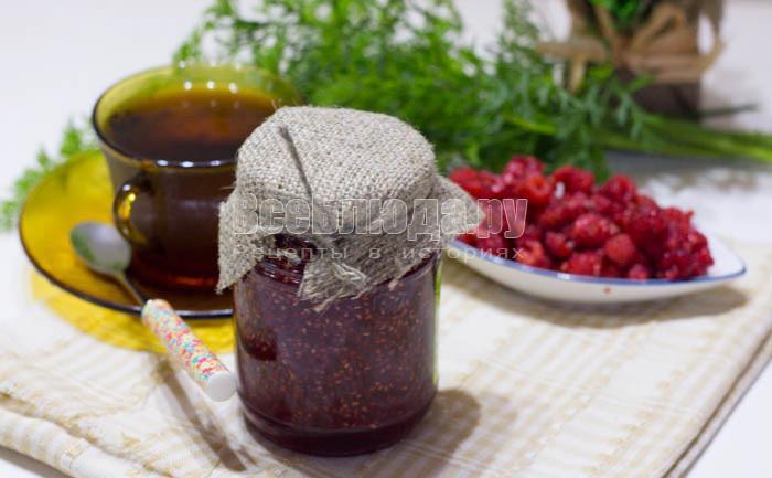 готовое варенье из малины