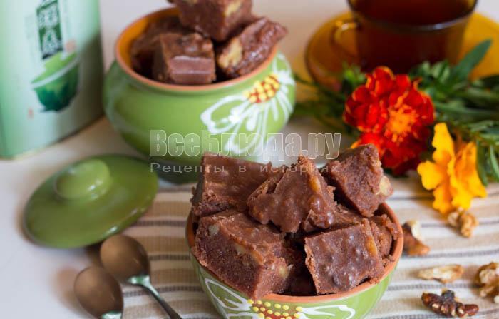 сибирский шоколадный щербет