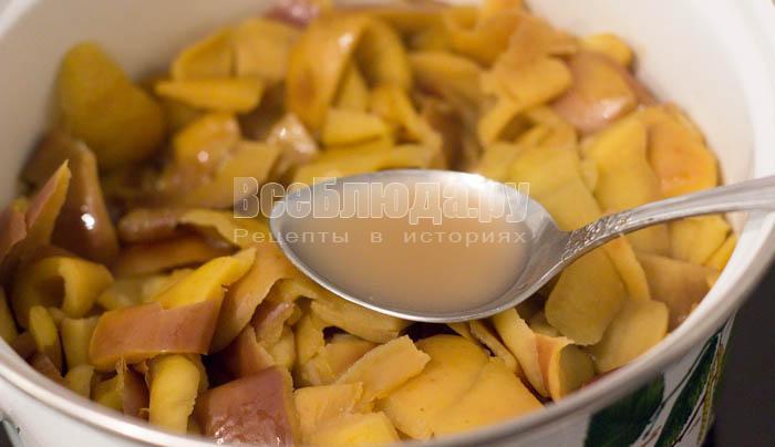 готовый яблочный сок