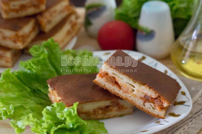 Тесто для пирога с капустой на кефире