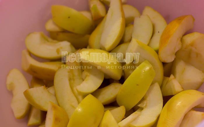 Варенье из яблок со сливами на зиму