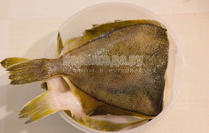 помыла рыбу