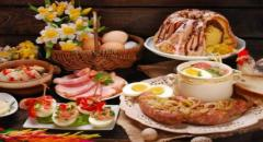 Какие блюда подают на Пасху?