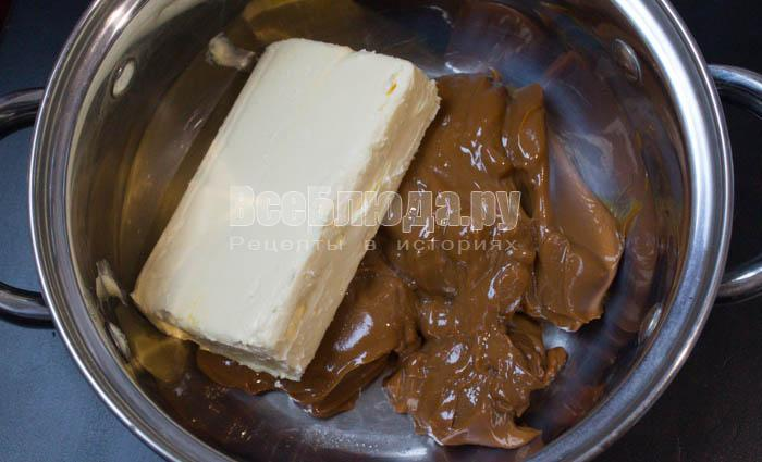 Муравейник из печенья с вареной сгущенкой