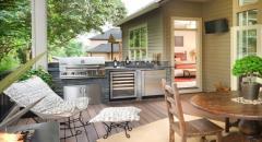 Преимущества строительства летней кухни