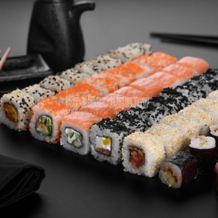 Японская кухня. Суши
