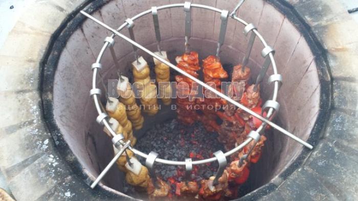 Лучшие рецепты для тандыра: мясо, гусь и свиные ребра
