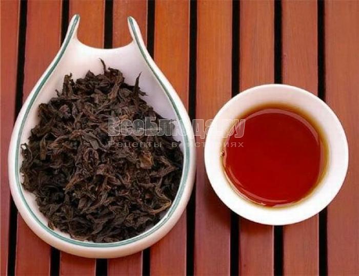Эффект чая Да хун пао