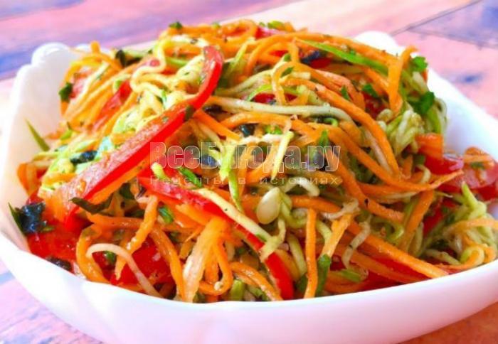 Какой салат приготовить к гарниру?