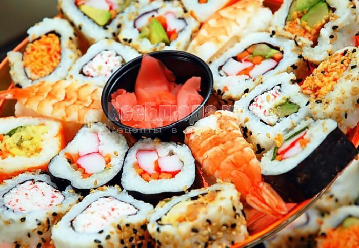 В чем преимущества и польза суши?