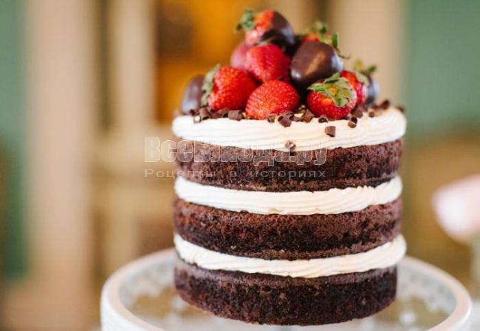 Торт: сладкое лакомство, которому обрадуется и взрослый, и ребенок