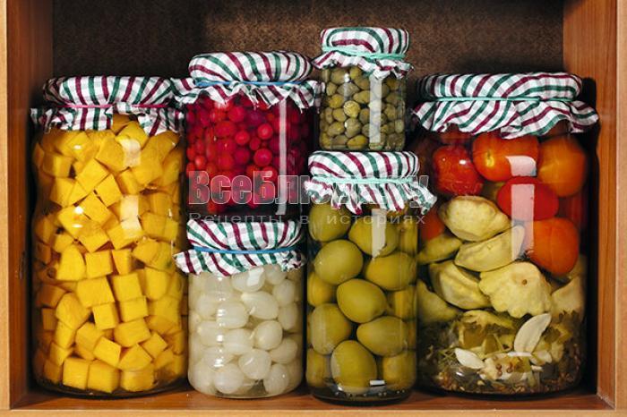 Фирменные соленья и маринады по домашним рецептам от