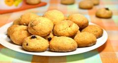 Печенье за 5 минут с изюмом - Пятиминутка