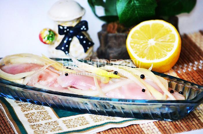 Маринованные лососевые молоки