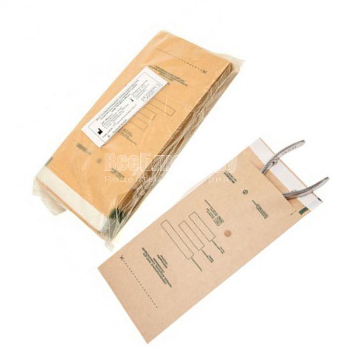 Применение крафт-пакетов