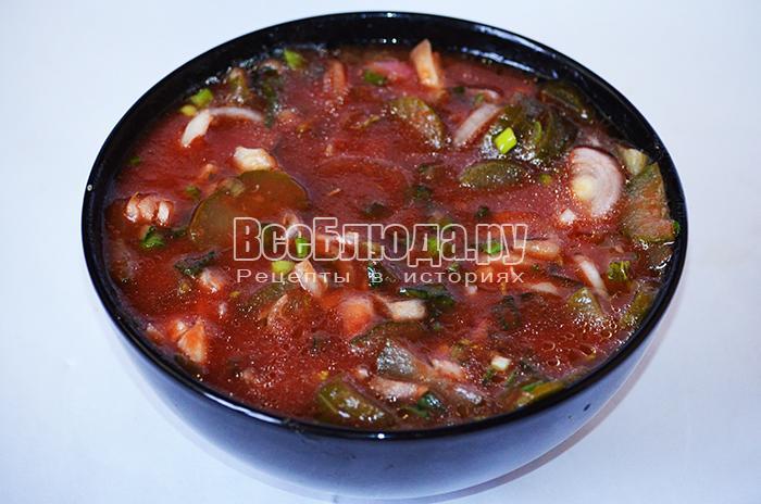 добавьте томатный сок