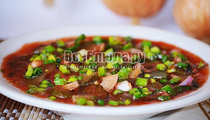 готовый салат с томатным соком