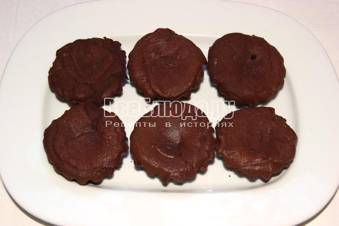 готовые шоколадные кексы