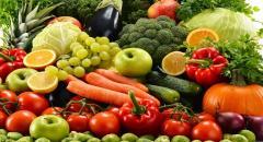 Качественные овощи и фрукты