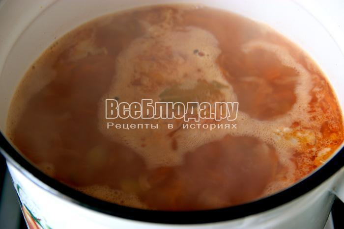 Солянка сборная с морской капустой, пошаговый рецепт с фото