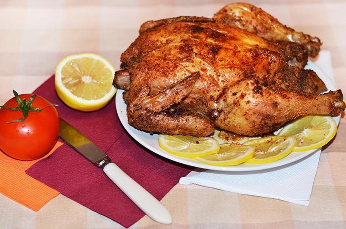 Хрустящая курица в аэрогриле с панировочными сухарями