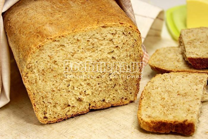 Готовый хлеб крупным планом