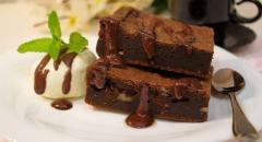 Рецепт торта Брауни с грецкими орехами