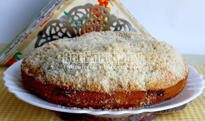 Рецепт пирога в мультиварке пошагово с фото
