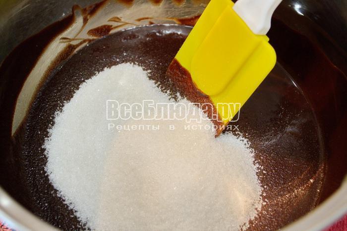 перемешать и добавить сахар