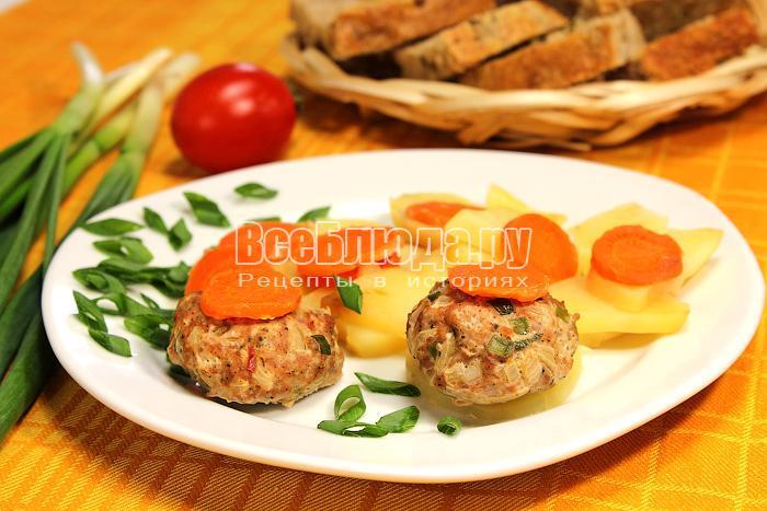 Диетические блюда на пару рецепт