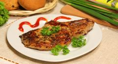 Жареное мясо на косточке (костица)