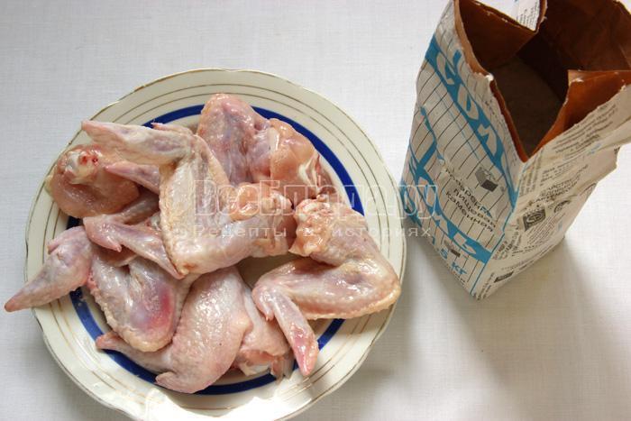 солю курятину