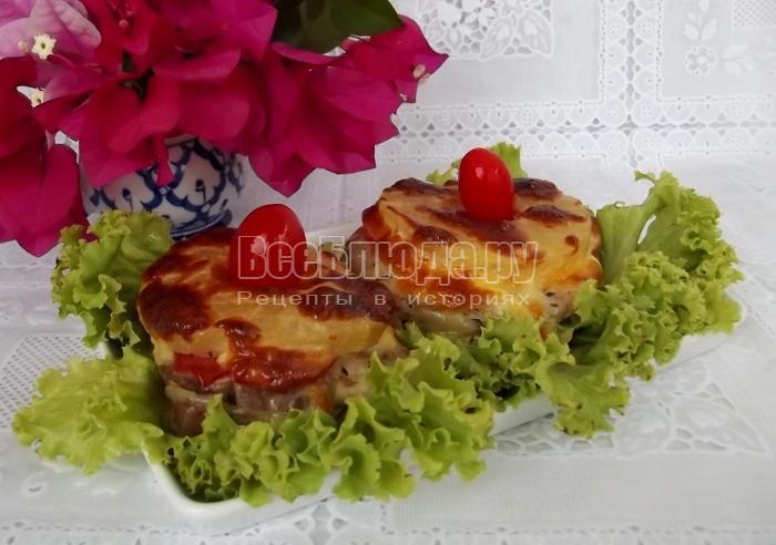 рецепт приготовления мяса с ананасами