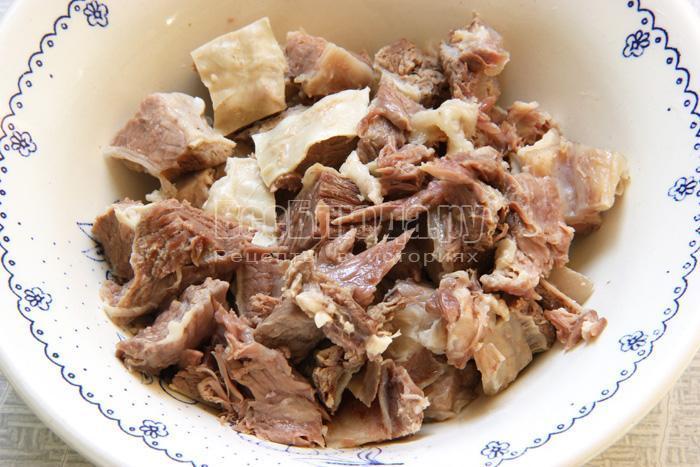 режу мясо
