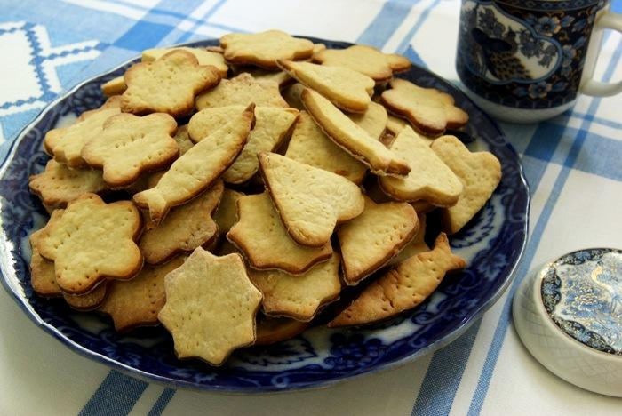 Фигурное печенье для детей