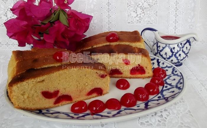 вишневый кекс рецепт с пошаговыми фото