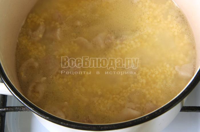 Пшено с курицей: рецепт совместного приготовления мяса и пшенки