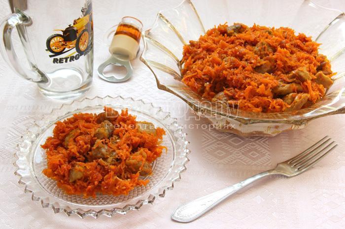 Сладковато-острая свинина с морковкой (рецепт азиатской кухни)