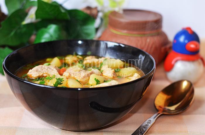 как приготовить вкусную тушеную картошку