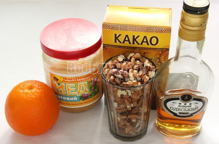 продукты для приготовления конфет дома