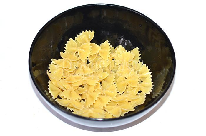 подготовьте макароны