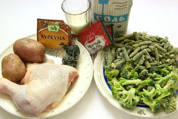продукты для рагу
