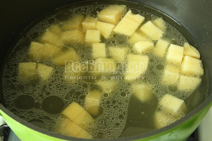 кладу картофель