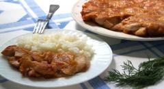 Рецепт куриного филе в кляре с крахмалом по-китайски